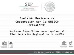acciones_especificas Acciones Específicas regionales