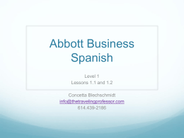 Abbott Business Spanish