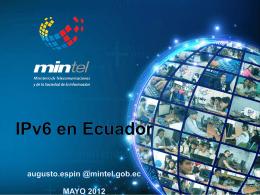 IPv6 en Ecuador