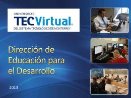 Dirección de Educación para el Desarrollo