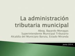 Diapositiva 1 - PAGGMunicipal