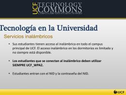 Tecnología en la Universidad