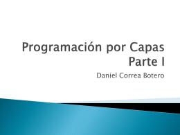 Programación por Capas