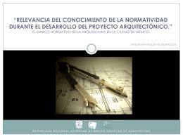 23. Relevancia Normatividad para el desarrollo del