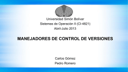 Presentación de PowerPoint - LDC