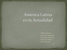 América Latina en la Actualidad