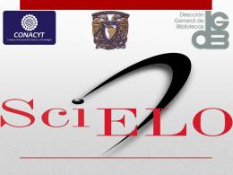 SciELO México y sus indicadores de impacto - Biblat