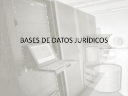 Base de Datos Jurídicas - seminario de filosofia del derecho