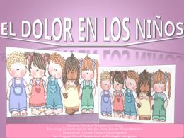 EL DOLOR EN LOS NIÑOS