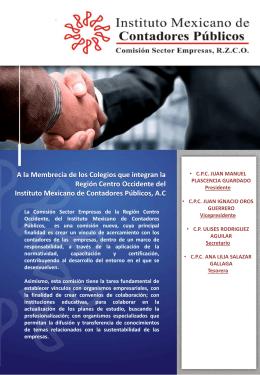 Boletin_Informativo_CRSE - Colegio de Contadores Públicos