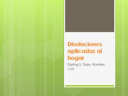 Disoluciones aplicadas al hogar (1)