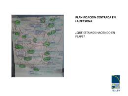planificación centrada en la persona - Conecta2