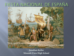 Fiesta Nacional de España - Mounds View School Websites