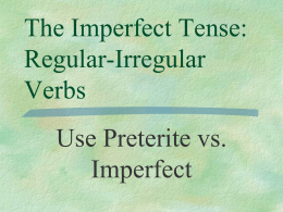 (imperfect). - Atlanta Public Schools