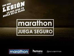 Marathon Juega Seguro