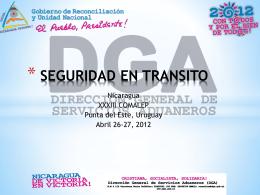 TRANSITO SEGURO TIM - Dirección Nacional de Aduanas