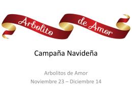 Arbolitos De Amor