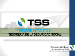 INFORME ESTADISTICO 3ER TRIMESTE 2014-vs2