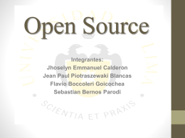 El Open Source en las organizaciones