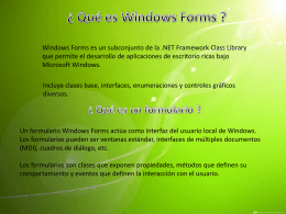 windows form - Juan Benitez Figueroa