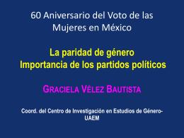 Dra. Graciela Vélez Bautista - Tribunal Electoral del Poder Judicial