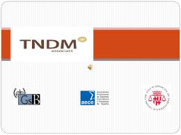 Qué hacemos - TNDM Associats