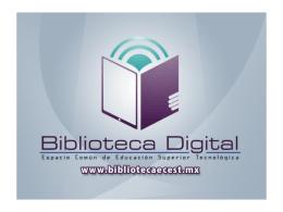 Biblioteca Digital. Espacio Común de Educación Superior
