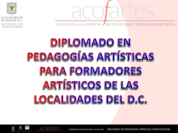 Diapositiva 1 - acofartes.org.co