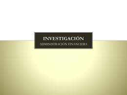 Tarea 1 - Administración Financiera