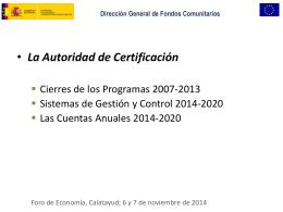 La Autoridad de Certificación