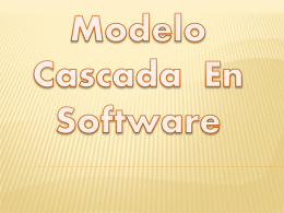 Modelo Cascada En Software Integrantes