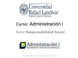 05 - Responsabilidad Social