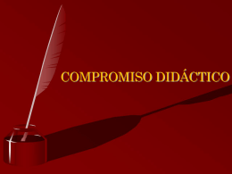 COMPROMISO DIDACTICO
