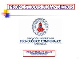 Pronósticos Financieros