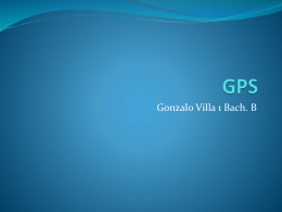 Gonzalo - GPS - TICO