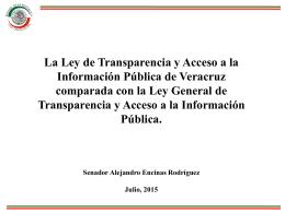 Presentación de PowerPoint - Instituto Veracruzano de Acceso a la