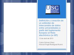 Reconocimiento de créditos - CRUE-TIC