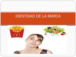 IDENTIDAD DE LA MARCA