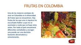 FRUTAS EN COLOMBIAWEBNODE