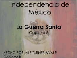La Guerra Santa - ASFM Tech Integration