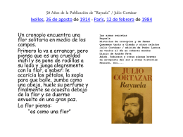50 Años de la Publicación de *Rayuela*