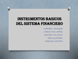 LAS FUNCIONES DEL DINERO - fundamentos de macro 2013.