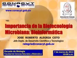 Importancia de la Biotecnología Microbiana