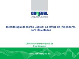 Instrumentos de Evaluación (CONEVAL)