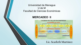 tercer encuentro mercadeo - Profesora Scarleth Martínez