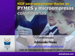 NIIF para Pymes - Actualicese.com