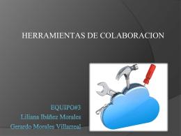 HERRAMIENTAS DE COLABORCION
