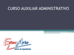 Clase5AuxAdministrativo