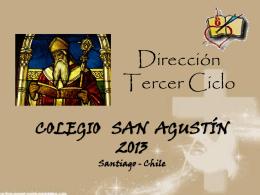 Tercer Ciclo - Colegio San Agustín