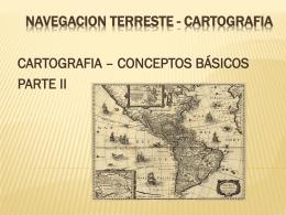 NAVEGACION TERRESTE PARTE II